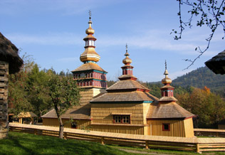 The Wooden Church from the village of Mikulasova